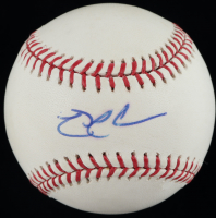 Nick Swisher Signed OML Baseball (MLB Hologram) at PristineAuction.com