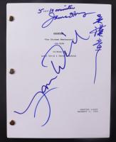 "Larry David & James Hong Signed ""Seinfeld"" Episode Script Inscribed ""5...10 Minutes"" (ACOA COA) at PristineAuction.com"