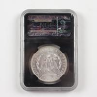 1884-O Morgan Silver Dollar - Black Core Holder (NGC MS63) at PristineAuction.com
