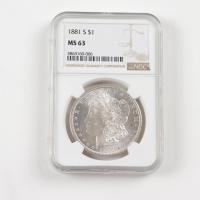 1882-O/O Morgan Silver Dollar VAM-7 Top 100 (NGC MS61) at PristineAuction.com