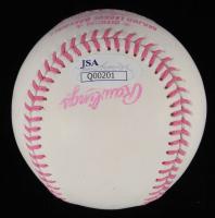 Jennie Finch Signed OML Breast Cancer Awareness Baseball (JSA Hologram) at PristineAuction.com