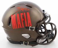 Zack Moss Signed Bills Speed Mini Helmet (Beckett COA) at PristineAuction.com