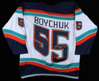 Johnny Boychuk Signed Jersey (Boychuk COA) (See Description) at PristineAuction.com