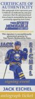 Jack Eichel Signed Jersey (Eichel COA & AJ's Sports World Hologram) (See Description) at PristineAuction.com