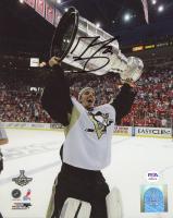 Marc-Andre Fleury Signed Penguins 8x10 Photo (PSA COA) at PristineAuction.com