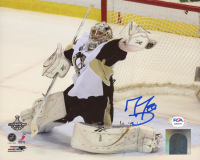 Marc-Andre Fleury Signed Penguins 8x10 Photo (PSA COA) at PristineAuction.com