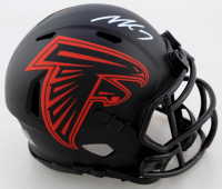 Michael Vick Signed Falcons Eclipse Alternate Speed Mini Helmet (JSA COA) at PristineAuction.com