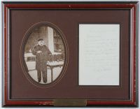 Louis Pasteur Signed 14x18 Custom Framed Letter Display (Beckett LOA) (See Description) at PristineAuction.com