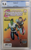 "2018 ""Champions"" Issue #22 Marvel Comic Book (CGC 9.4) at PristineAuction.com"