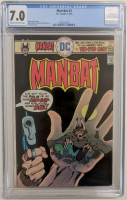 "1976 ""Man-Bat"" Issue #2 DC Comic Book (CGC 7.0) at PristineAuction.com"