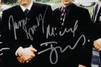 """The Sopranos"" 22x26 Custom Framed Photo Display Cast-Signed by (5) with James Gandolfini, Tony Sirico, Michael Imperioli, Vincent Pastore, Steven Van Zandt (Beckett LOA) at PristineAuction.com"