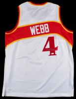 Spud Webb Signed Hawks Jersey (JSA COA) at PristineAuction.com