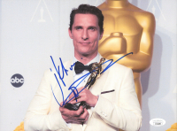 Matthew McConaughey Signed 8x10 Photo (JSA COA) at PristineAuction.com