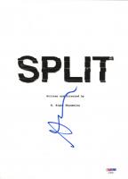 "Anya Taylor-Joy Signed ""Split"" 8.5x11 Movie Script Cover (PSA Hologram) at PristineAuction.com"