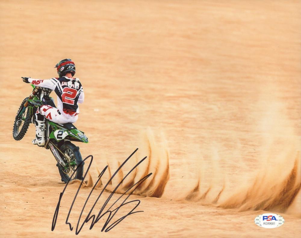 Ryan Villopoto Signed 8x10 Photo (PSA Hologram) at PristineAuction.com