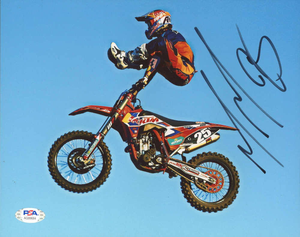 Marvin Musquin Signed 8x10 Photo (PSA Hologram) at PristineAuction.com