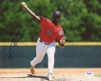 Kumar Rocker Signed 8x10 Photo (PSA COA) at PristineAuction.com