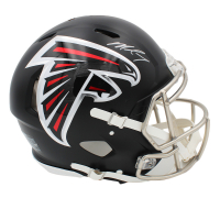 Michael Vick Signed Falcons Full-Size Authentic On-Field Speed Helmet (Radtke COA) at PristineAuction.com
