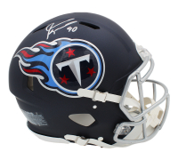 Jevon Kearse Signed Titans Full-Size Authentic On-Field Speed Helmet (Radtke COA) at PristineAuction.com