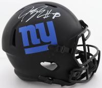 Jeremy Shockey Signed Giants Full-Size Eclipse Alternate Speed Helmet (Beckett COA) (See Description) at PristineAuction.com