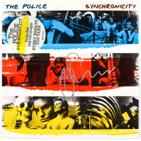 """Andy Summers Signed The Police """"Synchronicity"""" Vinyl Record Album Cover (JSA Hologram) at PristineAuction.com"""