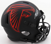 Michael Vick Signed Falcons Full-Size Eclipse Alternate Speed Helmet (JSA COA) at PristineAuction.com