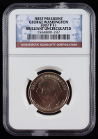 2007-P George Washington $1 Presidential Dollar Coin - (NGC Brilliant Uncirculated) at PristineAuction.com