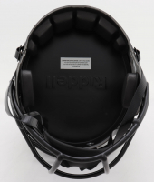 Justin Jefferson Signed Vikings Full-Size Eclipse Alternate Speed Helmet (Beckett COA) at PristineAuction.com