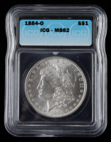 1884-O Morgan Silver Dollar (ICG MS62) at PristineAuction.com