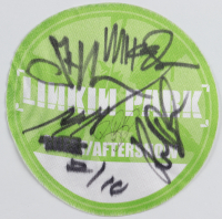 Linkin Park Backstage Guest Pass Signed by (5) with Mike Shinoda, Joe Hahn, Rob Bourdon, Chester Bennington & Brad Delson (Beckett LOA) at PristineAuction.com