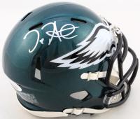Jalen Hurts Signed Eagles Speed Mini-Helmet (JSA COA) at PristineAuction.com