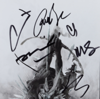 Linkin Park CD Insert Signed by (6) with Mike Shinoda, Joe Hahn, Rob Bourdon, Chester Bennington, Dave Farrell & Brad Delson (Beckett LOA) at PristineAuction.com