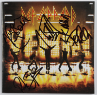 Def Leppard CD Insert Band-Signed by (5) with Phil Collen, Rick Allen, Rick Savage, Joe Elliott & Vivian Campbell (Beckett LOA) at PristineAuction.com