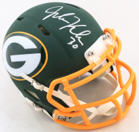 John Kuhn Signed Packers AMP Alternate Speed Mini-Helmet (JSA COA) at PristineAuction.com