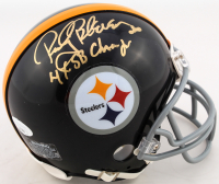 "Rocky Bleier Signed Steelers Mini-Helmet Inscribed ""4x SB Champs"" (JSA COA) at PristineAuction.com"