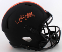 Nick Chubb Signed Browns Full-Size Eclipse Alternate Speed Helmet (Beckett COA) at PristineAuction.com