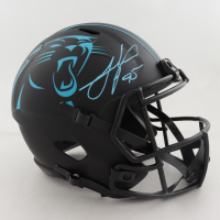 Julius Peppers Signed Panthers Full-Size Eclipse Alternate Speed Helmet (Schwartz Sports COA) (See Description) at PristineAuction.com