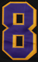 Kobe Bryant 33x37 Custom Framed Jersey With Bryant #8 Pin at PristineAuction.com