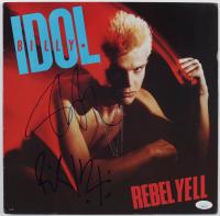 "Billy Idol & Steve Stevens Signed ""Rebel Yell"" Vinyl Record Album (JSA COA) (See Description) at PristineAuction.com"