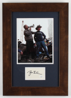 George W. Bush Signed 9/11 Ground Zero Speech Custom Framed Cut Display (JSA COA) at PristineAuction.com