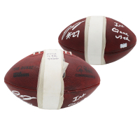 "J. C. Jackson Signed Game-Used ""The Duke"" Official NFL Game Ball Inscribed ""Int Game Used"" (Radtke Hologram) at PristineAuction.com"