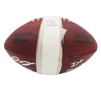 """J. C. Jackson Signed Game-Used """"The Duke"""" Official NFL Game Ball Inscribed """"Int Game Used"""" (Radtke Hologram) at PristineAuction.com"""