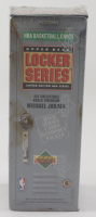 1991 Upper Deck NBA Michael Jordan Locker Series 6 of 6 Box with (7) Packs (See Description) at PristineAuction.com