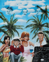 "Bob Denver & Dawn Wells Signed ""Gilligan's Island"" 16x20 Print (JSA COA) at PristineAuction.com"