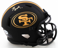 Brandon Aiyuk Signed 49ers Eclipse Alternate Speed Mini Helmet (Beckett COA) at PristineAuction.com
