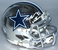 Jason Witten Signed Cowboys Chrome Speed Mini Helmet (Beckett COA) at PristineAuction.com