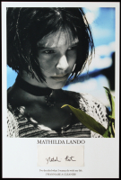 "Natalie Portman Signed ""Leon: The Professional"" 2x5 Cut Display (Beckett LOA) at PristineAuction.com"