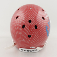 Jeremy Shockey Signed Full-Size Authentic On-Field Hydro-Dipped Helmet (Beckett COA) (See Description) at PristineAuction.com