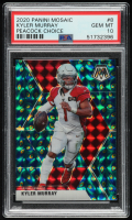 Kyler Murray 2020 Panini Mosaic Mosaic Choice Peacock #8 (PSA 10) at PristineAuction.com