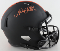 Nick Chubb Signed Browns Full-Size Eclipse Alternate Speed Helmet (Beckett COA) (See Description) at PristineAuction.com
